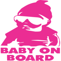 Sticker Baby On Board 1