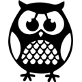 Sticker Cute Owl