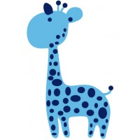 Sticker Baby Giraffe